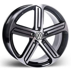 Roda_Volkswagen_Golf_2015_preta_Diamantada_RAW_