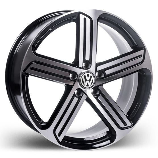 Roda_Volkswagen_Golf_2015_preta_Diamantada_RAW_