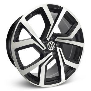 Roda_Volkswagen_Golf_GTI_Club_Sport_Preta_Diamantada
