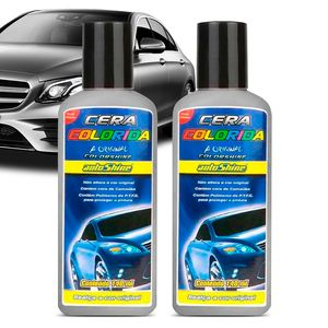 Cera-Colorshine-Cinza-Autoshine-140ml