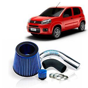 Filtro-Ar-Esportivo-Racechrome-Intake-Mono-Fluxo-Azul-Fiat-Uno-1.0CC-10-