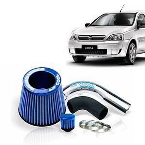 Filtro-Ar-Esportivo-Racechrome-Intake-Duplo-Fluxo-Azul-GM-Corsa-1.0-Econoflex-06-