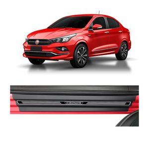Soleira-Fiat-Cronos-4P-Premium-Aco-Escovado-Resinado