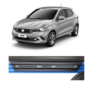 Soleira-Fiat-Argo-4P-Premium-Aco-Escovado-Resinado