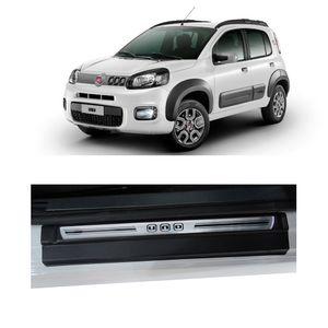 Soleira-Fiat-Uno-4P-Premium-Aco-Escovado-Resinado