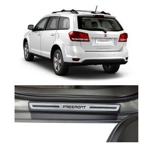 Soleira-Fiat-Freemont-4P-Premium-Aco-Escovado-Resinado