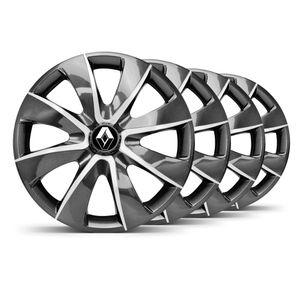 Jogo-4-Calota-Prime-Grafite-Prata-Aro-14--Renault