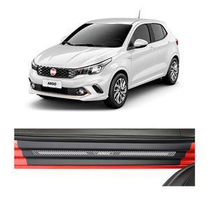 Kit-Soleira-Fiat-Argo-4P-Carbono