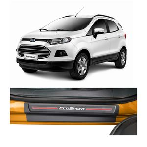 Kit-Soleira-Ford-Ecosport-4P-Carbono