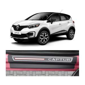 Kit-Soleira-Renault-Captur-4P-Carbono