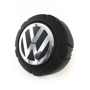 Calota-Centro-Roda-VW-Saveiro-G5-Tropper-Preta-Fosca