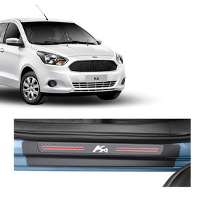 Kit-Soleira-Ford-Focus-4P-Carbono