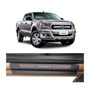 Kit-Soleira-Ford-Ranger-4P-Carbono