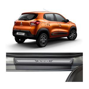 Kit-Soleira-Renault-Kwid-4P-Carbono