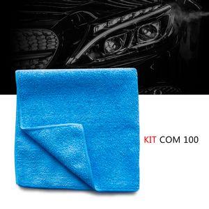 Kit-100-Pano-microfibra-automotiva-flanela-anti-risco-toalha