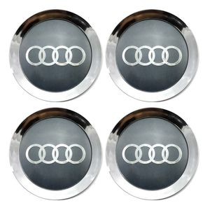 Jogo-4-Calota-Centro-Roda-Scorro-S172-S181-Audi-A8-Cromo