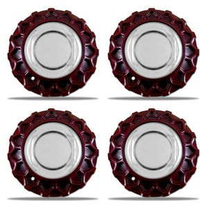 Jogo-4-Calota-Centro-Roda--BBS-Nova-Zunky-Zk370-Vermelha--Porca-Cromada