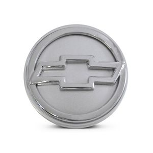 Calota-Centro-Roda-Big-Zunky-Vectra-Elite-2006-51mm-Prata-Com-Botton-Cromado