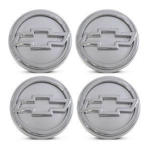 Jogo-4-Calota-Centro-Roda-Big-Zunky-Vectra-Elite-2006-51mm-Prata-Com-Botton-C