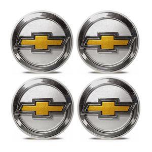 Jogo-4-Calota-Centro-Roda-Big-Zunky-Vectra-Elite-2006-51mm-Prata-Com-Botton-D