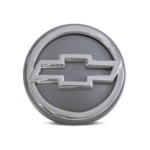 Calota-Centro-Roda-Big-Zunky-Vectra-GTX--2006-51mm-Grafite-Com-Botton-Cromado