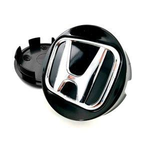 Calota-Centro-Roda-Honda-New-Civic-Preta-Cromada