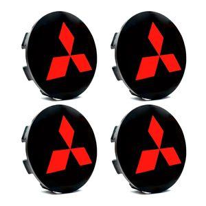 Jogo-4-Calota-Centro-Roda-Mitsubishi-Triton-Preta-Vermelha