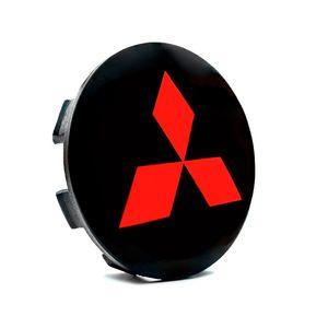Calota-Centro-Roda-Mitsubishi-Triton-Preta-Vermelha