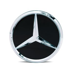 Calota-Centro-Roda-Mercedes-AMG-Preta-Fosca