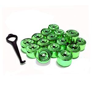 Kit-Capa-de-Parafuso-Chave-17-Metalizada-Verde-16-pecas