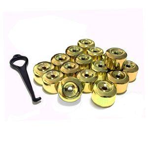 Kit-Capa-de-Parafuso-Chave-17-Metalizada-Amarela-16-pecas