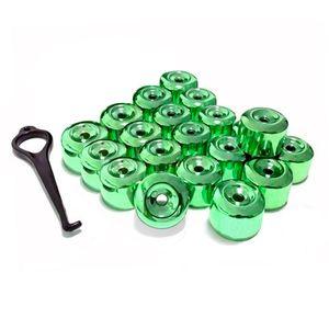 Kit-Capa-de-Parafuso-Chave-17-Metalizada-Verde-20-pecas