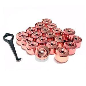 Kit-Capa-de-Parafuso-Chave-17-Metalizada-Vermelha-20-pecas