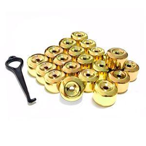 Kit-Capa-de-Parafuso-Chave-17-Metalizada-Amarela-20-pecas