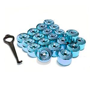 Kit-Capa-de-Parafuso-Chave-17-Metalizada-Azul-20-pecas