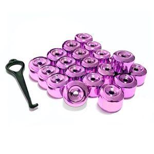 Kit-Capa-de-Parafuso-Chave-17-Metalizada-Roxa-20-pecas