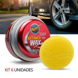 Kit-6-Cera-Automotiva-Meguiars-Cleaner-Wax-Pasta-A1214