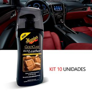 Kit-10-Hidratante-De-Couro-Automotiva-Meguiars-Gold-Class-G17914