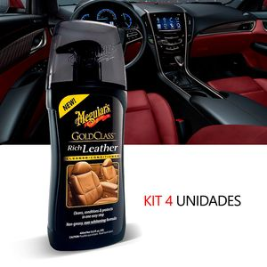 Kit-4-Hidratante-De-Couro-Automotiva-Meguiars-Gold-Class-G17914