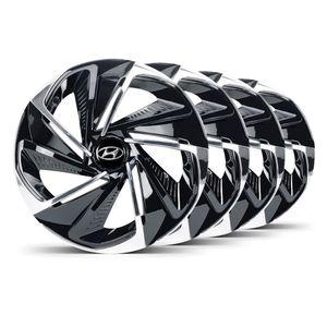 Jogo-4-Calota-Nitro-Aro-14-Preta--Cromada-Hyundai