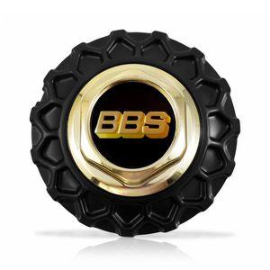 Calota-Centro-Roda-BRW-BBS-900-Preta-Dourada-Emblema-Preta