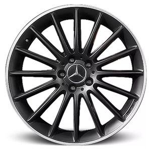 Roda_Mercedes_Benz_C_63_AMG_2014-Preta-Fosca-Borda-Diamantada