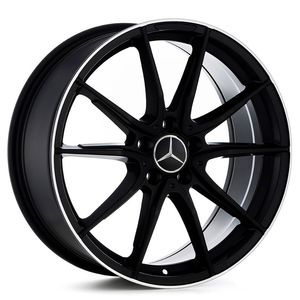 Roda_Mercedes_SLS_AMG_Preta_com_borda_Diamantada_RAW