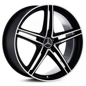 Roda_Mercedes_AMG_GT_Preta_Fosca_Diamantada_RAW