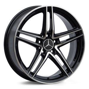Jogo-de-Roda-Mercedes-AMG-GT-Preta-Diamantada