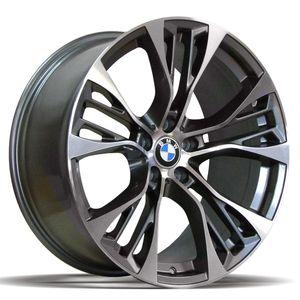 Jogo-de-Roda-BMW-X3-Grafite-Diamantada