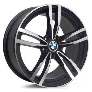 Jogo-de-Roda-BMW-M4-Aro-19---Preta-Fosca-Diamantada
