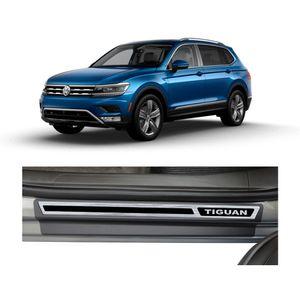 Kit-Soleira-Volkswagen-Tiguan-2018-4P-Aco-Escovado-Resinado