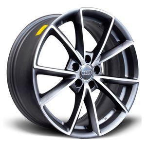 Jogo-de-Roda-Audi-RS4-Grafite-Fosca-Diamantada