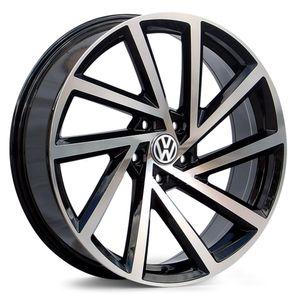 Jogo-de-Roda-Volkswagen-Golf-R-Preta-Diamantada